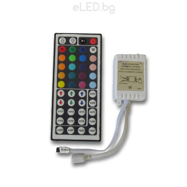 72w rgb controller led strip lights ir remote control 44 buttons 72w rgb controller led strip lights ir remote control 24 buttons aloadofball Gallery
