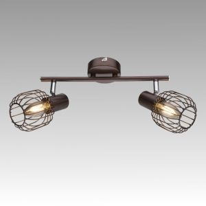 Vintage Wall Lamp AKIN 1xE14 230V Bronze / Chrome